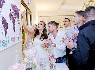 Andreea & Claudiu - nunta in 15 destinatii